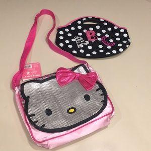 Hello Kitty purse & ABC bag